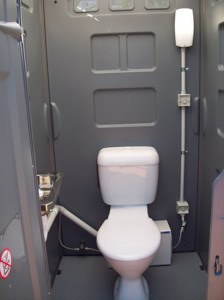 Luxury Sewer Connected Toilet
